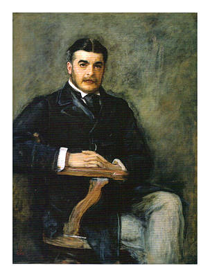 Portrait Of Sir Arthur Seymour Sullivan Poster by Celestial Images