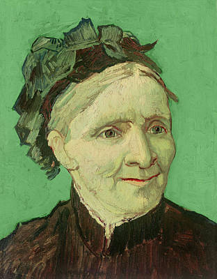 Portrait Of The Artist's Mother Poster by Vincent van Gogh