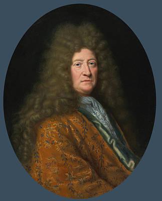 Portrait Of The Edouard Colbert Marquis De Villacerf Poster by Pierre Mignard