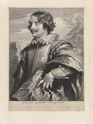 Portrait Of The Engraver Paul Pontius, Paulus Pontius Poster