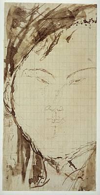 Portrait Of The Painter Eduardo Garc�a Poster by Amedeo Modigliani