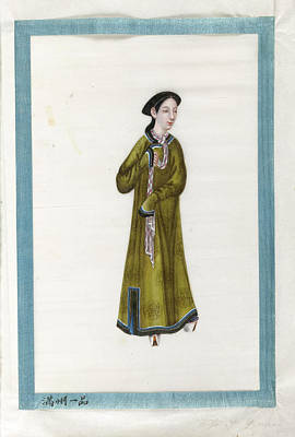 Portrait Of The Wife Of General. Poster by British Library