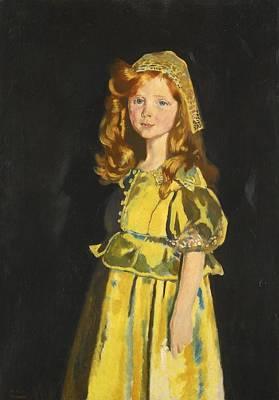 Portrait Of Vivien St George Poster by Celestial Images