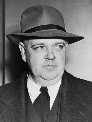 Portrait Of Whittaker Chambers Poster by Fred Palumbo