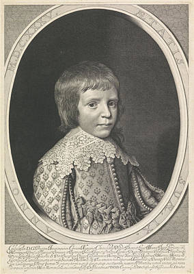 Portrait Of Willem II In An Oval Poster by Willem Jacobsz. Delff