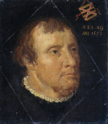 Portrait Of Willem Ploos Van Amstel, Bailiff Of Loosdrecht Poster by Litz Collection