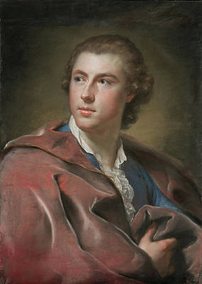 Portrait Of William Burton Conyngham Anton Raphael Mengs Poster by Litz Collection