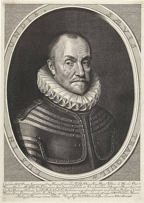 Portrait Of William I, Prince Of Orange Poster by Willem Jacobsz. Delff