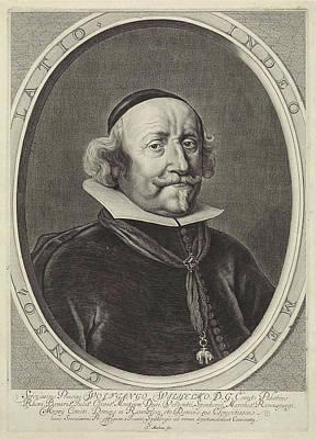 Portrait Of Wolfgang William Of The Palatinate-neuburg Poster by Theodor Matham