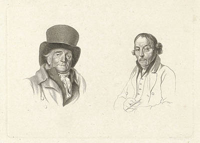 Portraits Of John Peter Of Horstok And Warner Horstink Poster