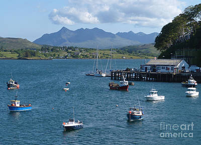Portree Harbour - Isle Of Skye Poster