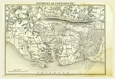 Portsmouth, Hampshire, Its Past And Present Condition Poster by Litz Collection