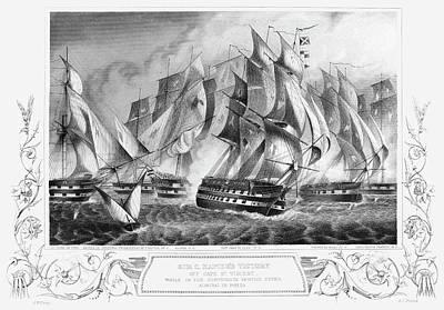 Portugal Battle, 1833 Poster by Granger