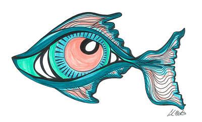 Poseidon's Eye Poster by Carlos Martinez