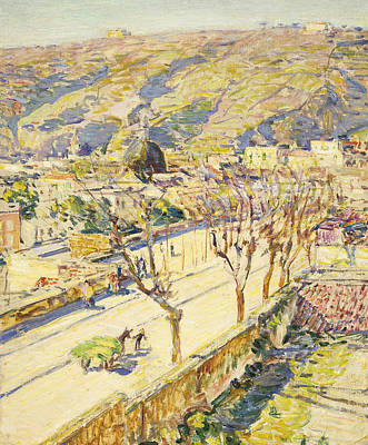 Posillipo Poster by Childe Hassam