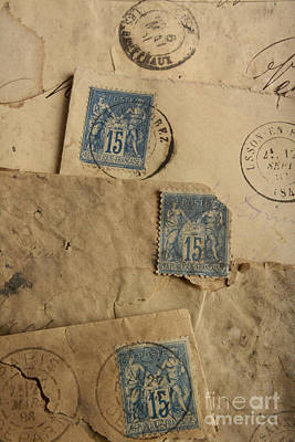 Postage Stamp Poster