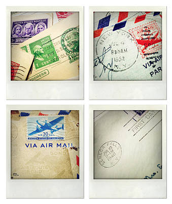 Postal Still Life Poster by Les Cunliffe