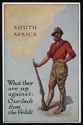Postcard Circa 1905 - 1918 Poster by British Library