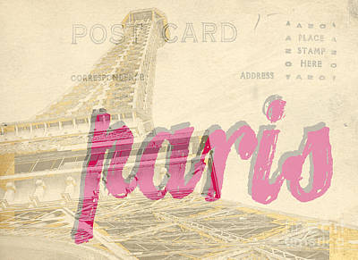 Postcard From Paris Poster