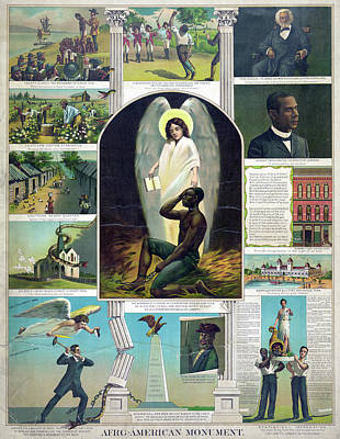 Poster Black History, C1897 Poster by Granger