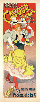 Poster For A Cigar Factory Poster by Liszt Collection