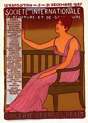 Poster For Galerie Georges Petit Poster