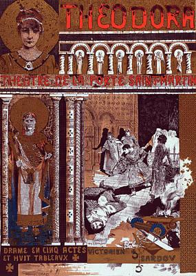 Poster For Le Théâtre De La Porte-saint-martin Poster