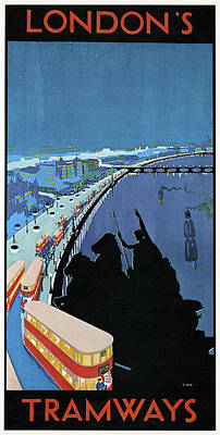 Poster London, 1929 Poster by Granger