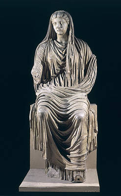 Posthumous Statue Of Livia Poster