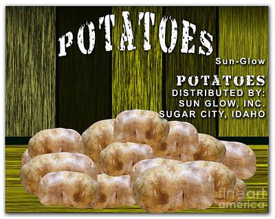 Potato Farm Poster by Marvin Blaine