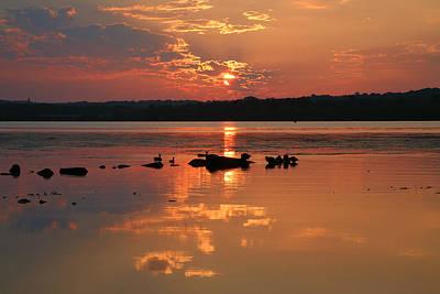 Potomac River Sunrise IIi Poster