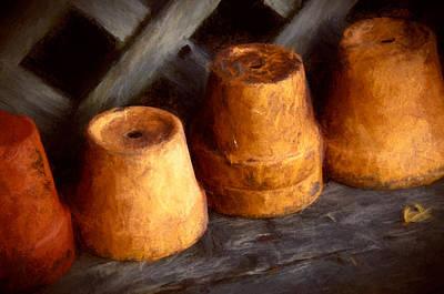 Pots Shed Poster by John K Woodruff