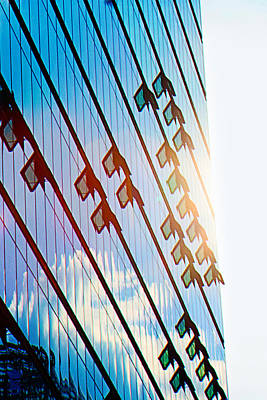 Potsdamer Platz Berlin  Glass Facades Poster