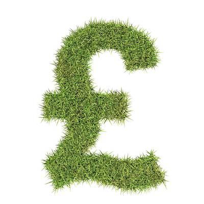 Pound Sterling Symbol Poster