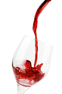 Pouring Red Wine Poster