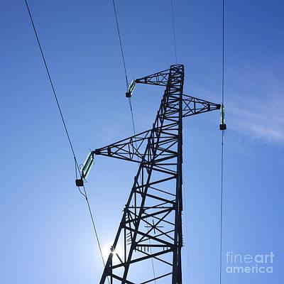 Power Pylon Poster