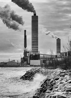 Poster featuring the photograph Power Station by Ricky L Jones