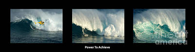Power To Achieve Poster by Bob Christopher