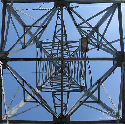 Power Tower. Square Format. Poster by Ausra Huntington nee Paulauskaite