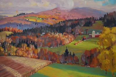 Pownel Vermont Poster