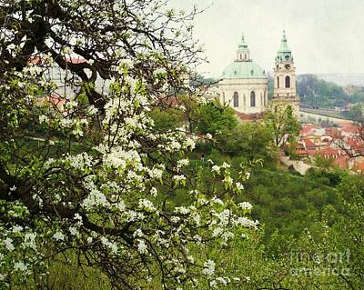 Prague In Bloom II Poster