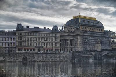 Prague National Theatre Poster