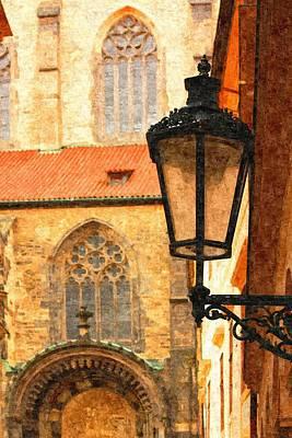 Prague - Old Town Poster by Ludek Sagi Lukac