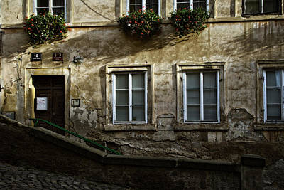 Prague Textures Poster