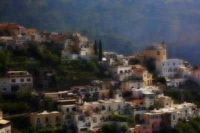 Praiano Amalfi Coast Poster by Hugh Smith