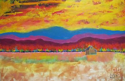 Prairie Autumn Poster