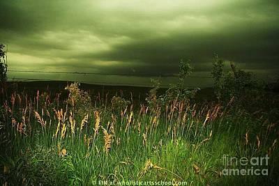Prairie Clouds Poster