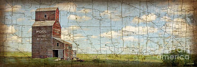 Prairie Panorama Poster by Judy Wood