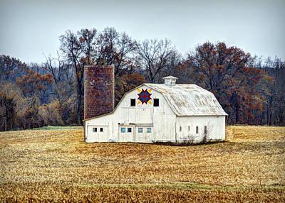Prairie Queen Quilt Barn Poster by Cricket Hackmann
