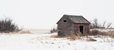 Prairie Silence... Poster by Nina Stavlund